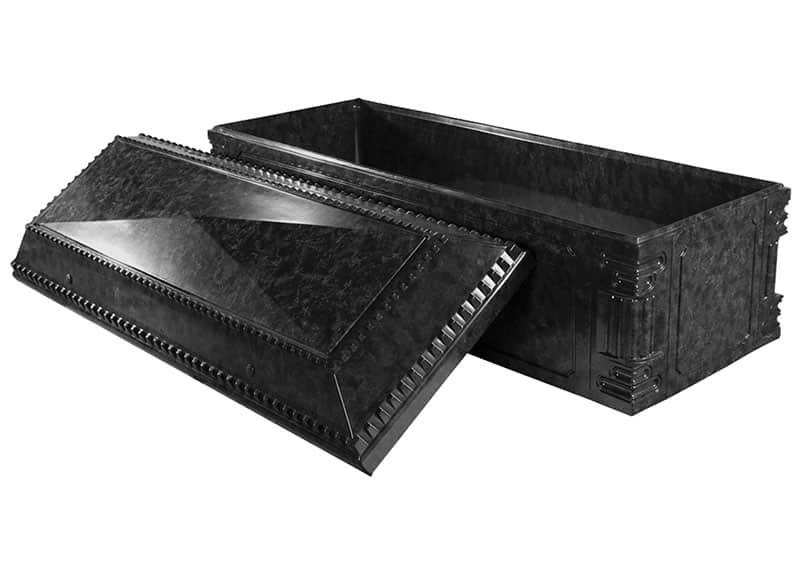 Aegean Black Marble Burial Vault