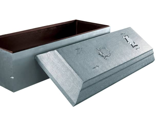 Estate Silver Burial Vault