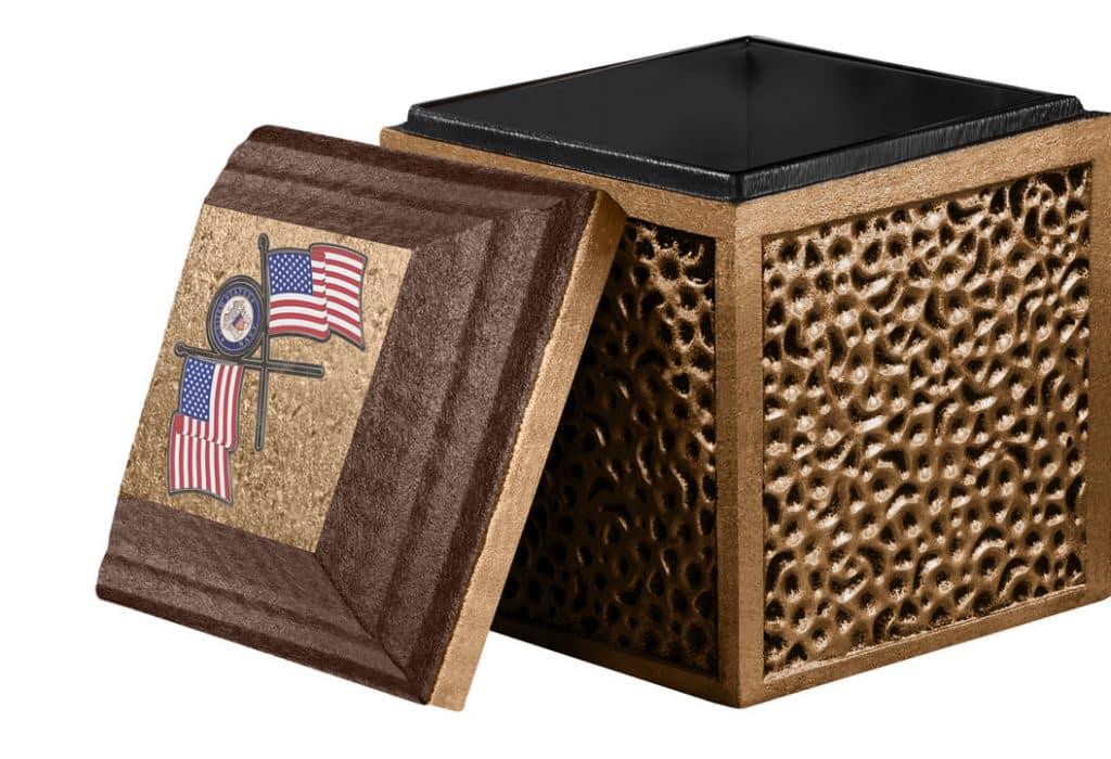 Trilogy Brown Cremation Urn Vault