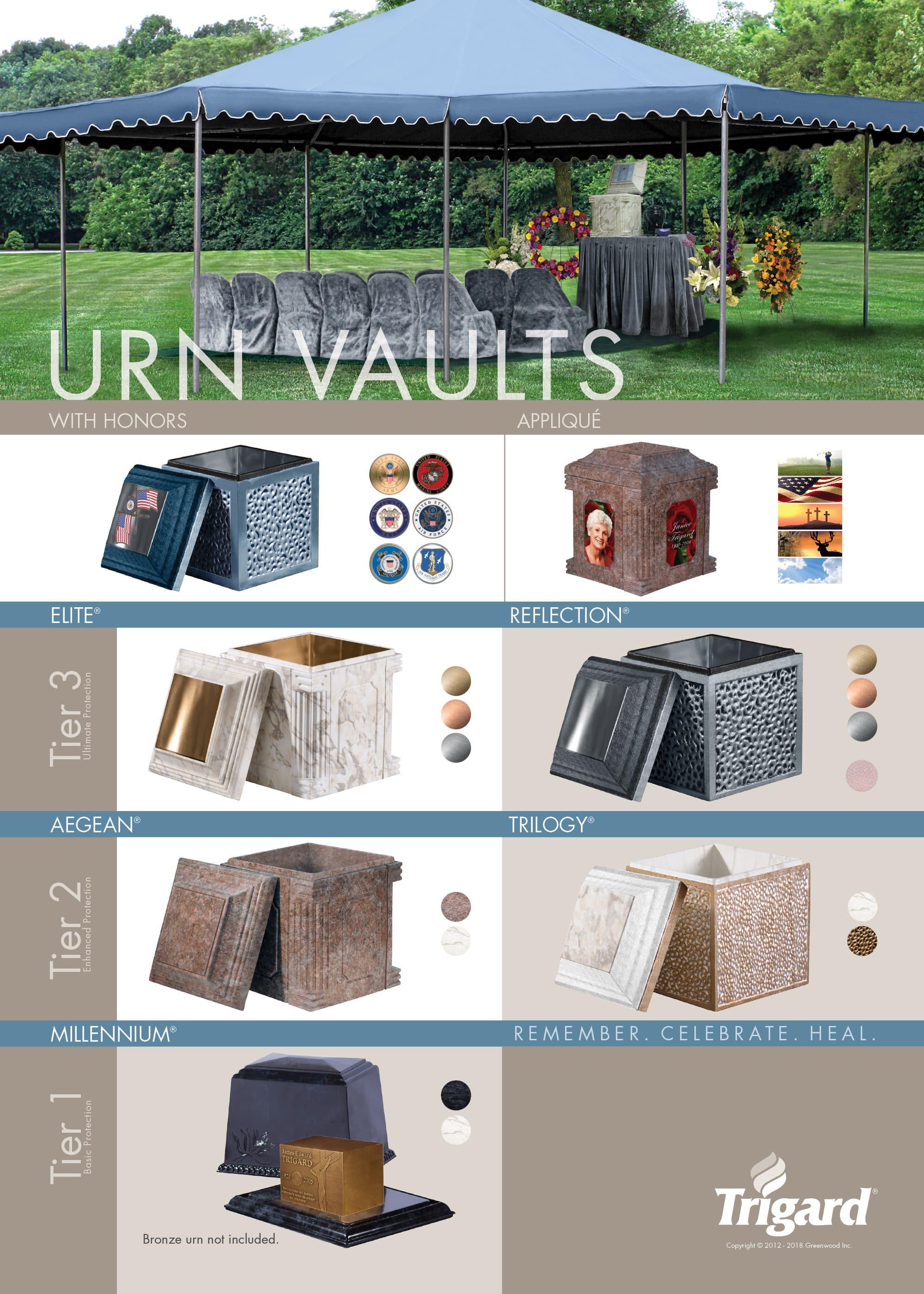 Urn Vault Display