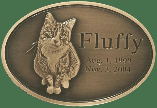 Oxide Bronze Pet Medallion