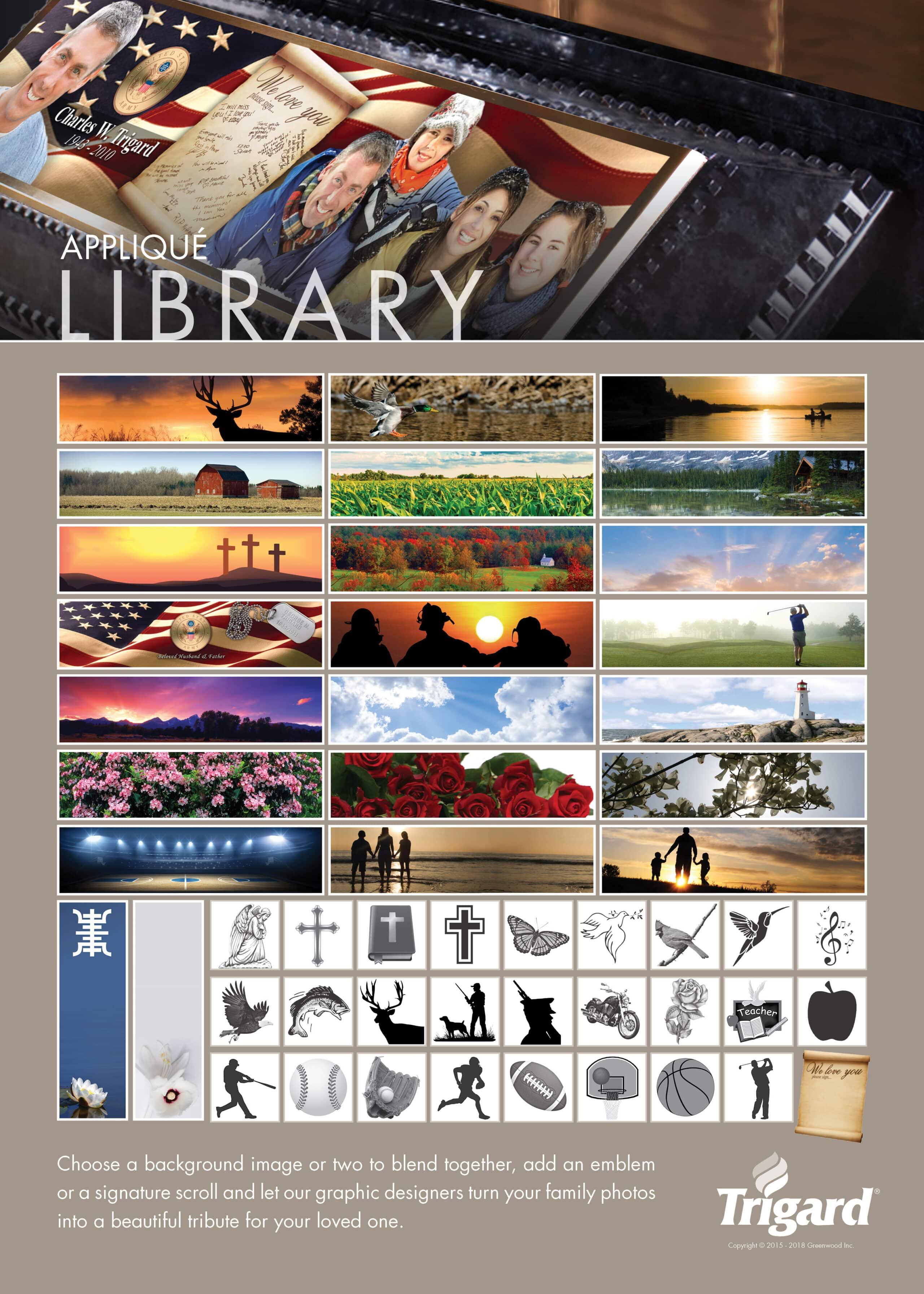 Applique Library 1