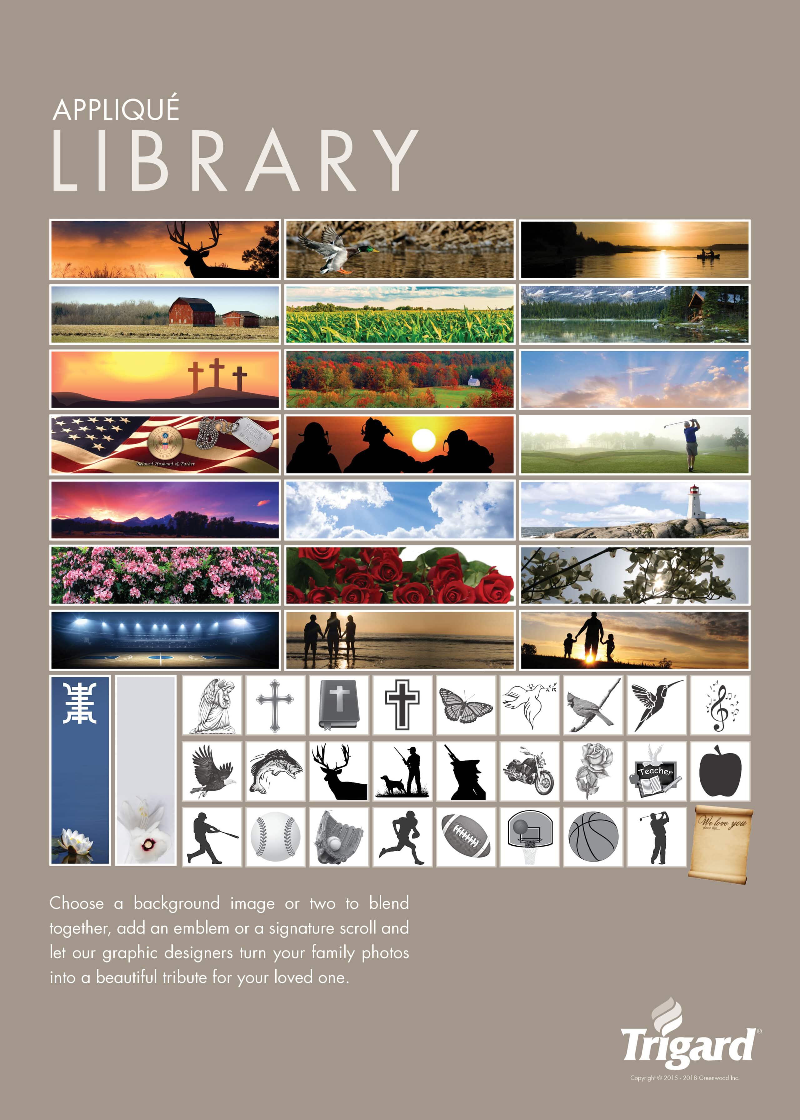 Applique Poster Library