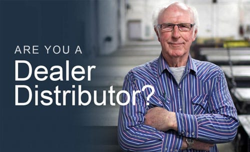 Are you a dealer distributor?