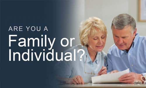 Are you a family or individual?