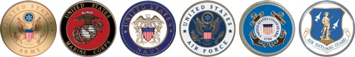 With Honors Military Emblems