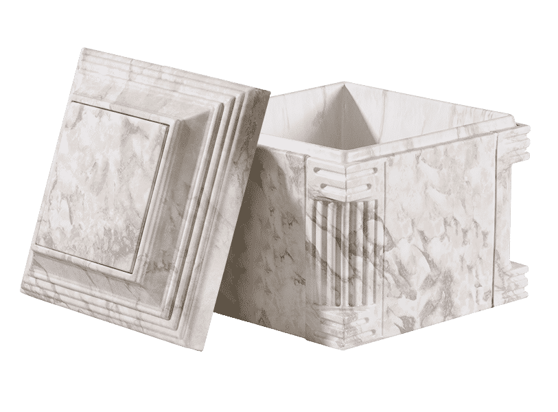 Aegean_Low Profile_white Marble