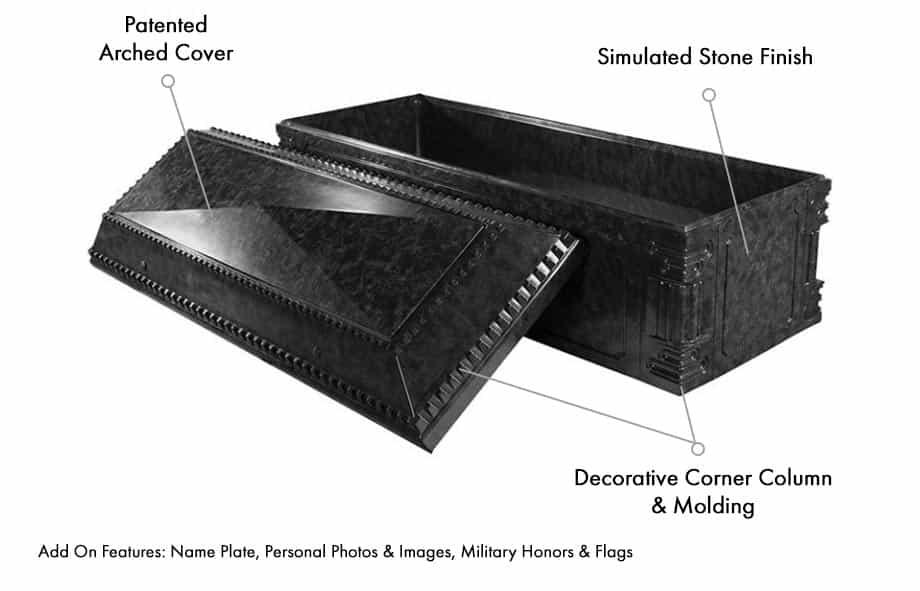 Aegean Burial Vault Specs