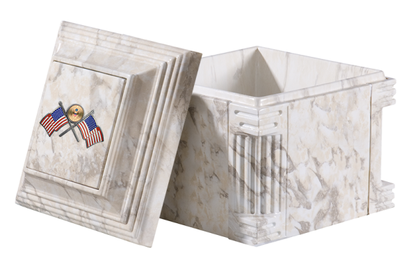 Aegean_Low Profile_white Marble_flags
