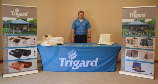Ethan with Trigard Trade Show Kit