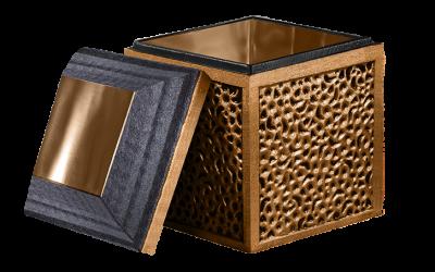 Bronze Cremation Urn Vault