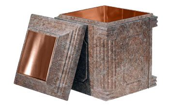 Aegean Cremation Urn Vault