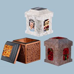 Custom Urn Vault Options