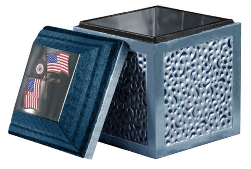 Custom Urn Vault With Honors