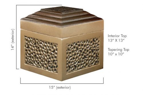 Low Profile Urn Vault Dimensions