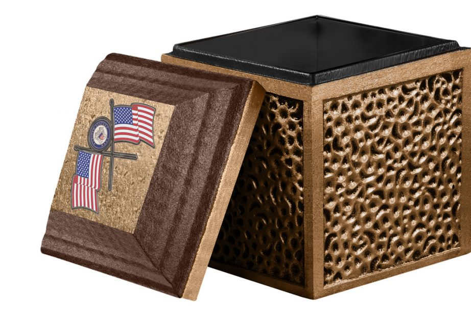 Trilogy Brown Cremation Urn Vault
